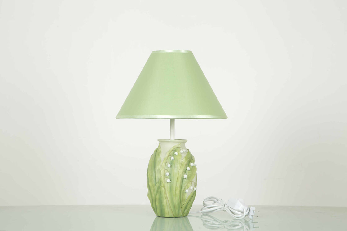 Green Bedroom Home Table Lamps W27 * D27 * H41CM With A Neutral Shade