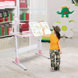 Removable Shelf Kids Playroom Furniture Study Writing Desk W100*D63*H112CM